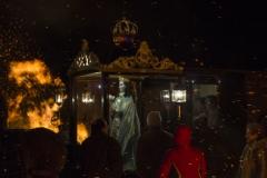 Lluvia de fuego, Enrique García Polo. Virgen de los Pegotes, Nava del Rey