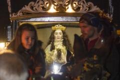 Guiando el Carruaje, Enrique García Polo.Virgen de los Pegotes